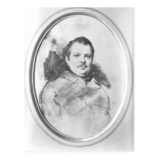 Portrait of Honore de Balzac  c.1820 Postcard