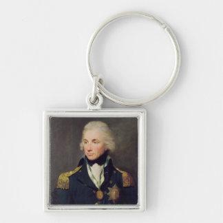 Portrait of Horatio Nelson , Viscount Nelson Keychain