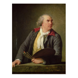 Portrait of Hubert Robert  1788 Postcard