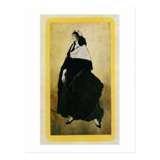 Portrait of Ida Lvovna Rubinstein (c.1885-1960) (c Postcard