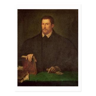 Portrait of Ippolito Riminaldi Postcard