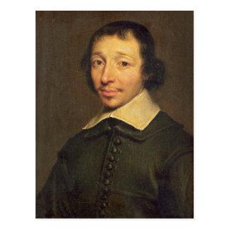 Portrait of Isaac-Louis Lemaistre de Sacy  1658 Postcard