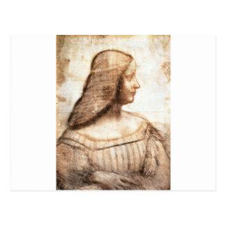 Portrait of Isabela d'Este Postcard