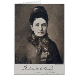 Portrait of Isabella Bird Bishop Card