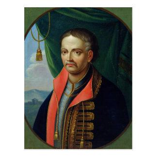 Portrait of Ivan Mazepa Postcard