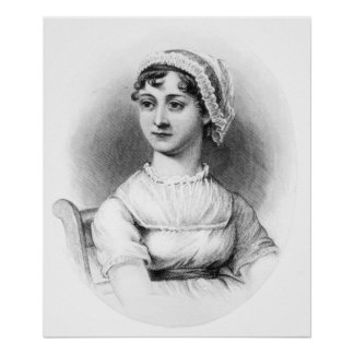 Portrait of Jane Austen Poster