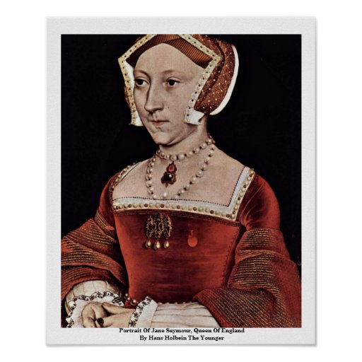 Portrait Of Jane Seymour, Queen Of England Posters