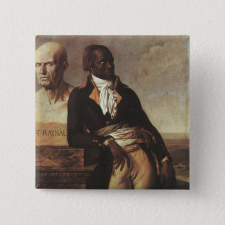 Portrait of Jean-Baptiste Belley 2 Inch Square Button