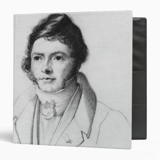 Portrait of Jean-Francois Champollion , 1830 Vinyl Binder