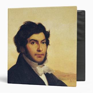 Portrait of Jean-Francois Champollion  1831 Binder