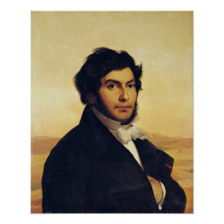 Portrait of Jean-Francois Champollion  1831 Poster