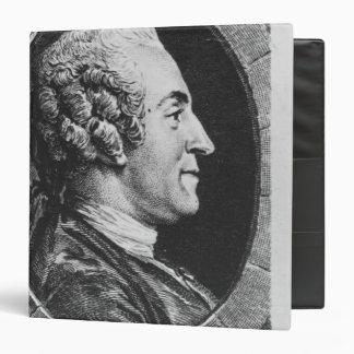 Portrait of Jean Francois Marmontel Vinyl Binder