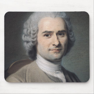 Portrait of Jean Jacques Rousseau Mouse Pad