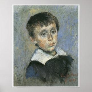 Portrait of Jean Monet, 1880 Poster