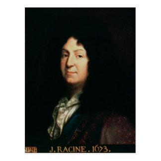 Portrait of Jean Racine  copy of an original Postcard