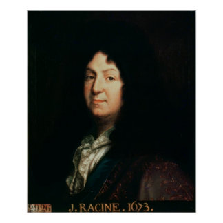 Portrait of Jean Racine  copy of an original Poster