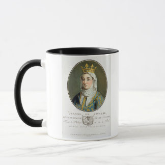Portrait of Jeanne de Navarre (1271-1304), 1788 (c Mug