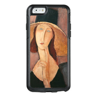 Portrait of Jeanne Hebuterne in a large hat OtterBox iPhone 6/6s Case
