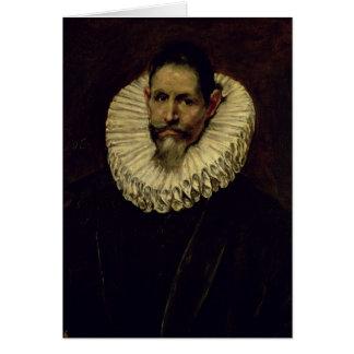 Portrait of Jeronimo de Cevallos c 1610 Cards