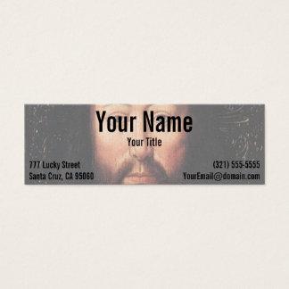Portrait of Jesus Christ by Jan van Eyck Mini Business Card