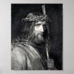 Portrait of Jesus Christ  Poster