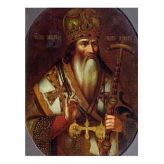 Portrait of Joachim, Patriarch of Moscow Postcard