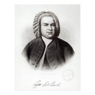 Portrait of Johann Sebastian Bach Postcard
