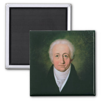 Portrait of Johann Wolfgang von Goethe , 1818 Magnet