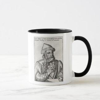 Portrait of Johannes Gutenberg Mug