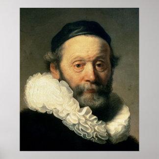 Portrait of Johannes Uyttenbogaert Poster