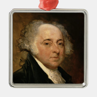 Portrait of John Adams Metal Ornament