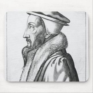 Portrait of John Calvin  aged 53, 1564 Mouse Pad