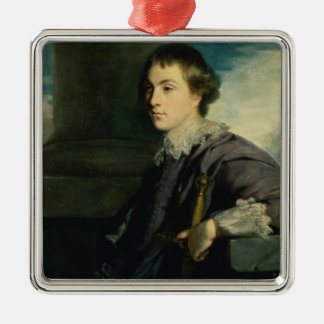 Portrait of John Charles Spencer, Lord Althorp (oi Silver-Colored Square Ornament