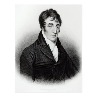 Portrait of John Clare Postcard