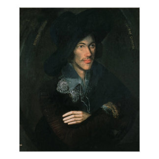 Portrait of John Donne, c.1595 Poster