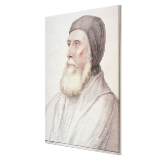 Portrait of John Russell 1st Earl of Bedford (1485 Canvas Print
