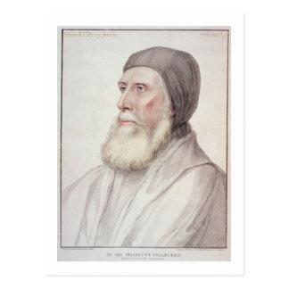 Portrait of John Russell 1st Earl of Bedford (1485 Postcard