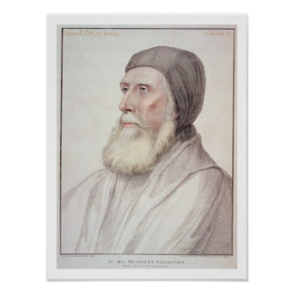 Portrait of John Russell 1st Earl of Bedford (1485 Poster