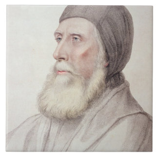 Portrait of John Russell 1st Earl of Bedford (1485 Ceramic Tiles
