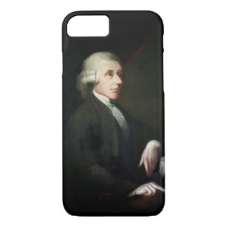 Portrait of Joseph Priestley (1733-1804) (oil on c iPhone 7 Case