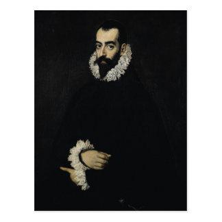 Portrait of Juan Alfonso de Pimentel y Herrera Postcard