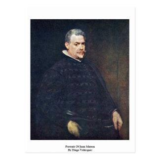 Portrait Of Juan Mateos By Diego Velázquez Postcard