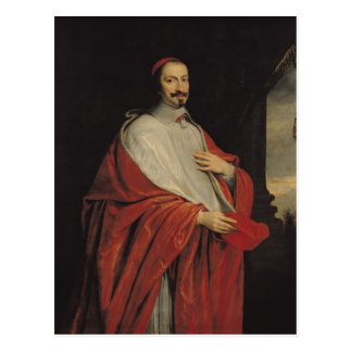 Portrait of Jules Mazarin Postcard