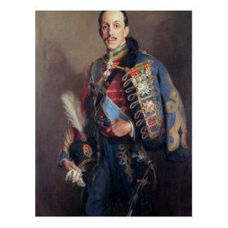 Portrait of King Alfonso XIII of Spain , 1927 Postcard