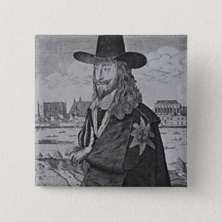 Portrait of King Charles I 2 Inch Square Button