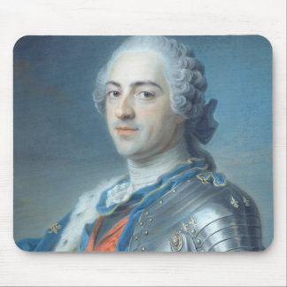Portrait of King Louis XV  1748 Mouse Pad