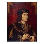 Portrait of King Richard III Postcard