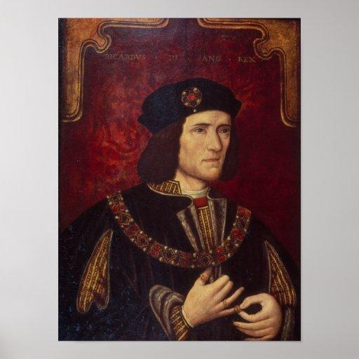 Portrait of King Richard III Posters
