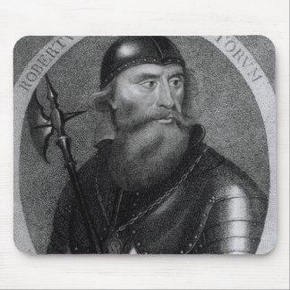 Portrait of King Robert I of Scotland Mousepad