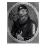 Portrait of King Robert I of Scotland Poster